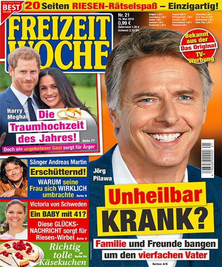 Jörg Pilawa - Unheilbar KRANK? - Familie und Freunde bangen um den vierfachen Vater