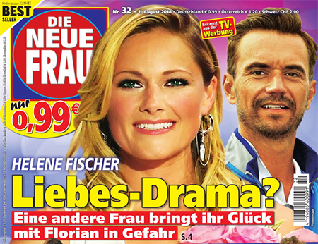 Helene Fischer - Liebes-Drama? - Eine andere Frau bringt ihr Glück mit Florian in Gefahr