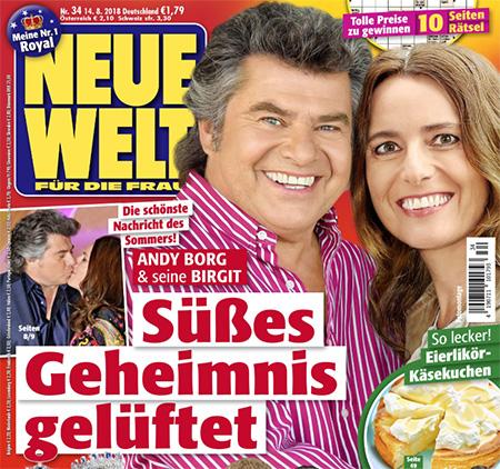Die schönste Nachricht des Sommers - Andy Borg & seine Birgit - Süßes Geheimnis gelüftet