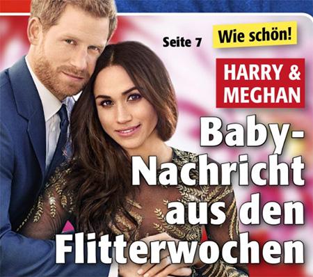 Wie schön! - Harry & Meghan - Baby-Nachricht aus den Flitterwochen