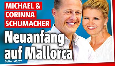 Michael & Corinna Schumacher -Neuanfang auf Mallorca