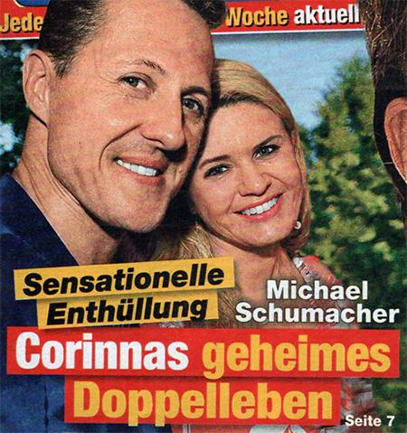Sensationelle Enthüllung - Michael Schumacher - Corinnas geheimes Doppelleben