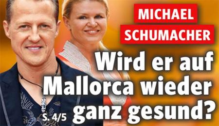 Michael Schumacher - Wird er auf Mallorca wieder ganz gesund?