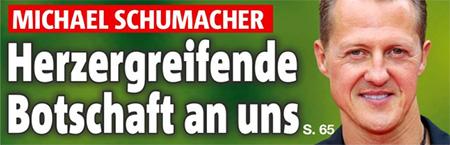 Michael Schumacher - Herzergreifende Botschaft an uns