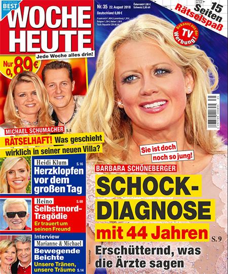 Sie ist doch noch so jung - Barbara Schöneberger - SCHOCK-DIAGNOSE mit 44 Jahren - Erschütternd, was die Ärzte sagen