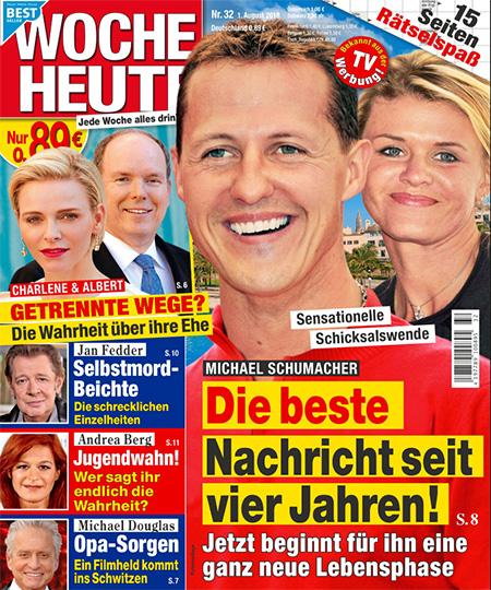 Sensationelle Schicksalswende - Michael Schumacher - Die beste Nachricht seit vier Jahren! - Jetzt beginnt eine ganz neue Lebensphase
