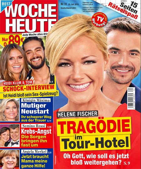 Helene Fischer - TRAGÖDIE im Tour-Hotel - Oh Gott, wie soll es jetzt bloß weitergehen?