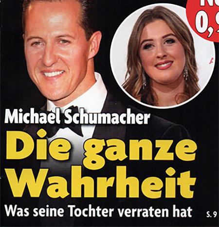 Michael Schumacher - Die ganze Wahrheit - Was seine Tochter verraten hat