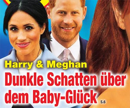 Harry & Meghan - Dunkle Schatten über dem Baby-Glück