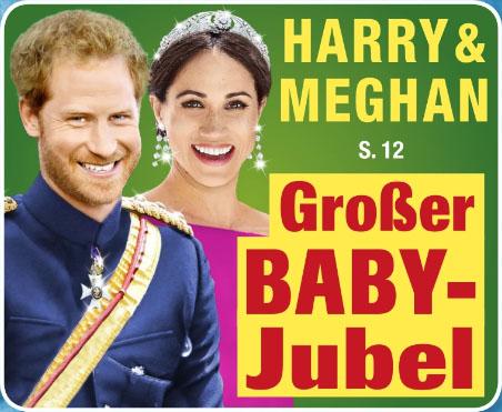 Harry & Meghan - Großer Baby-Jubel