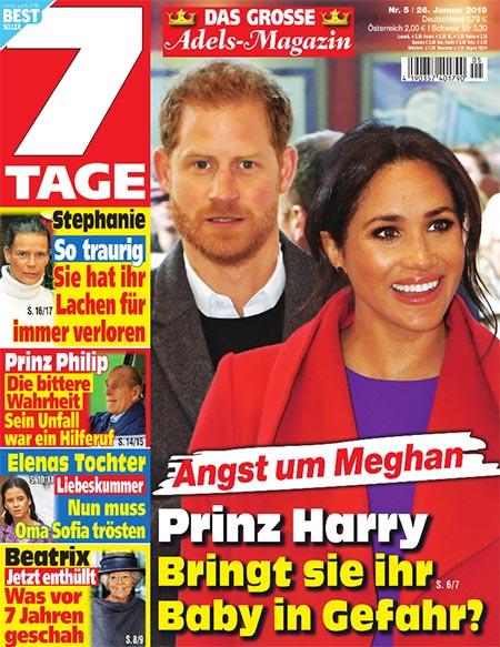 Angst um Meghan - Prinz Harry - Bringt sie ihr Baby in Gefahr?