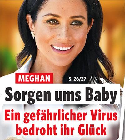 Meghan - Sorgen ums Baby - Ein gefährlicher Virus bedroht ihr Glück