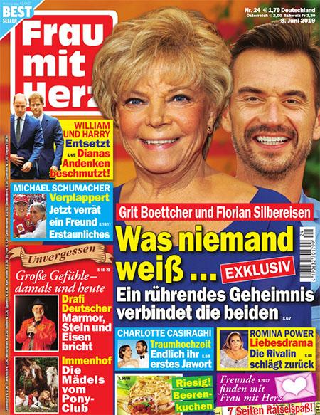 Grit Boettcher und Florian Silbereisen - Was niemand weiß ... Ein rührendes Geheimnis verbindet die beiden