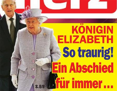 Königin Elizabeth - So traurig! - Ein Abschied für immer ...
