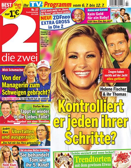 Helene Fischer und ihr Thomas - Kontrolliert er jeden ihrer Schritte?