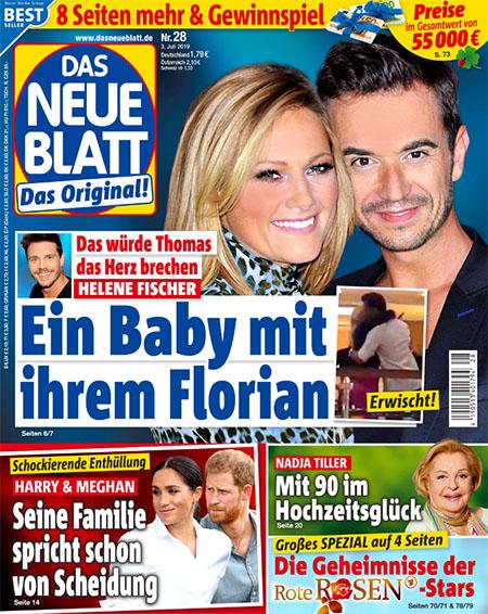 Das würde Thomas das Herz brechen - Helene Fischer - Ein Baby mit ihrem Florian