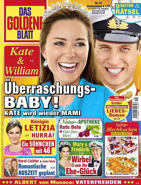 Kate & William - Überraschungs-Baby! - Kate wird wieder Mami