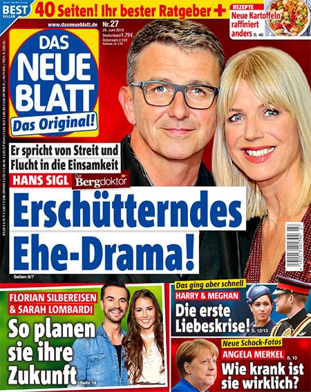 Er spricht über Streit und Flucht in die Einsamkeit - Hans Sigl - Erschütterndes Ehe-Drama!