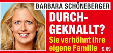 Barbara Schöneberger - Durchgeknallt? - Sie verhöhnt ihre eigene Familie