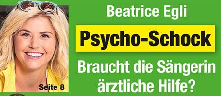 Beatrice Egli - Psycho-Schock - Braucht die Sängerin ärztliche Hilfe?