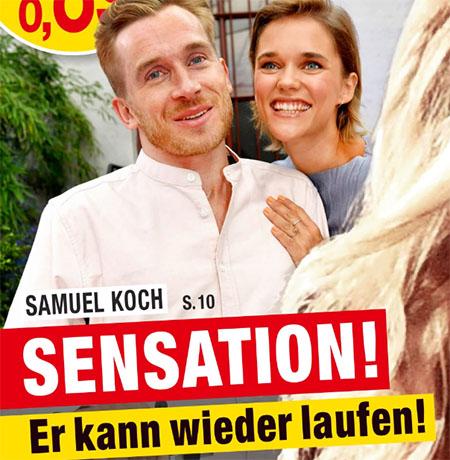 Samuel Koch - Sensation! - Er kann wieder laufen!