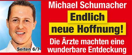 Michael Schumacher - Endlich neue Hoffnung! - Die Ärzte machen eine wunderbare Entdeckung