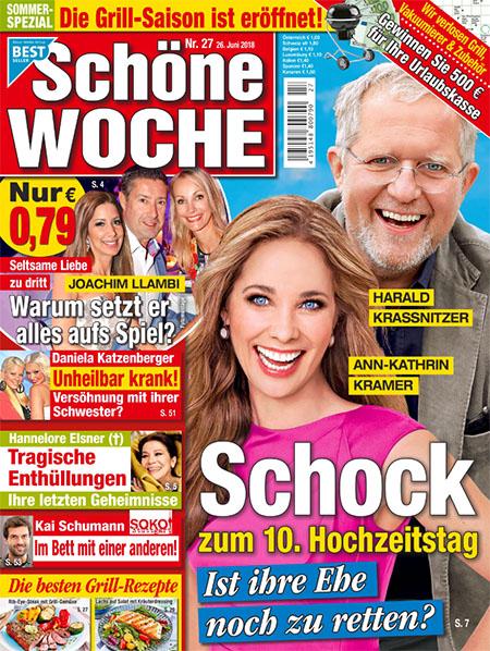 Harald Krassnitzer und Ann-Kathrin Kramer - Schock zum 10. Hochzeitstag - Ist ihre Ehe noch zu retten?