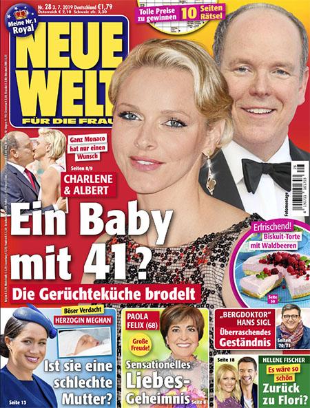 Ganz Monaco hat nur einen Wunsch - Charlene & Albert - Ein baby mit 41? - Die Gerüchteküche brodelt