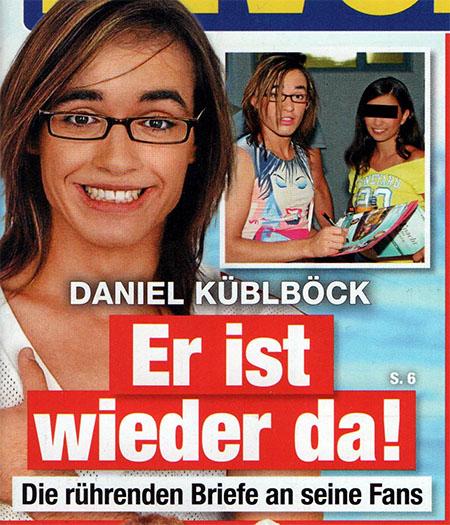 Daniel Küblböck - Er ist wieder da! - Die rührenden Briefe an seine Fans