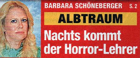 Barbara Schöneberger - Albtraum - Nachts kommt der Horror-Lehrer