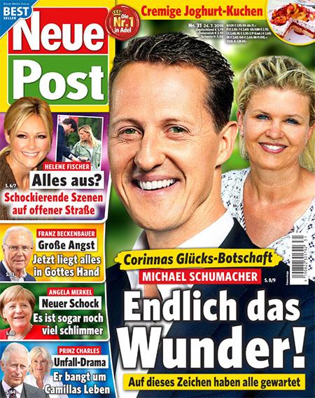 Corinnas Glücks-Botschaft - Michael Schumacher - Endlich das Wunder! - Auf dieses Zeichen haben alle gewartet