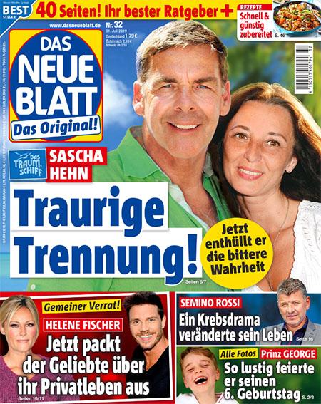Sascha Hehn - Traurige Trennung! - Jetzt enthüllt er die bittere Wahrheit