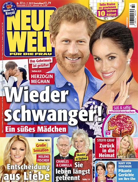 Das Geheimnis ist gelüftet - Herzogin Meghan - Wieder schwanger! - Ein süßes Mädchen