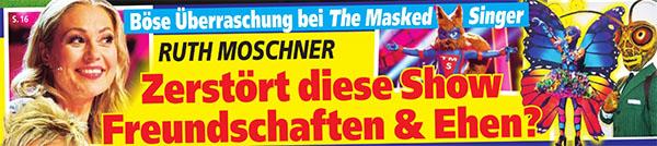 Böse Überraschung bei The Masked Singer - Ruth Moschner - Zerstört diese Show Freundschaften & Ehen?