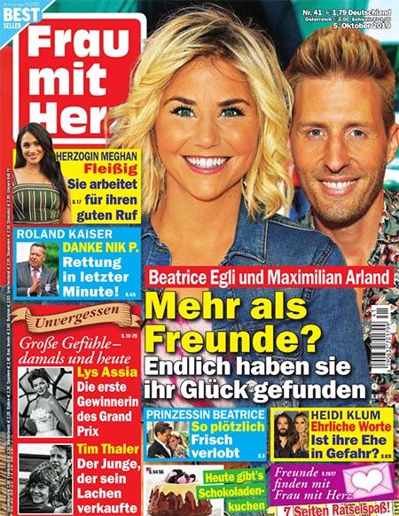 Beatrice Egli und Maximilian Arland - Mehr als Freunde? - Endlich haben sie ihr Glück gefunden