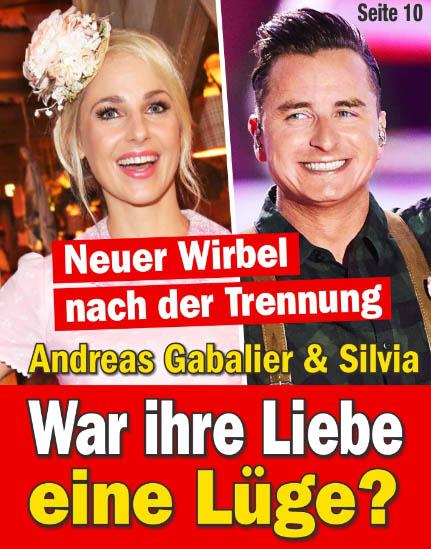Neuer Wirbel nach der Trennung - Andreas Gabalier & Silvia - War ihre Liebe eine Lüge?