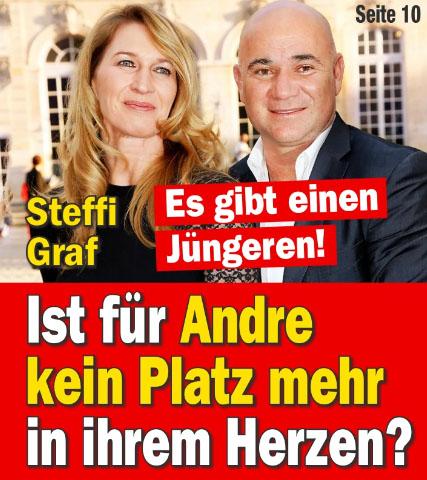 Steffi Graf - Es gibt einen Jüngeren! - Ist für Andre kein Platz mehr in ihrem Herzen?