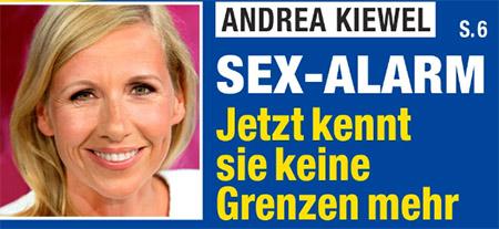 Andrea Kiewel - Sex-Alarm - Jetzt kennt sie keine Grenzen mehr