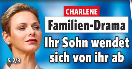 Charlene - Familien-Drama - Ihr Sohn wendet sich von ihr ab