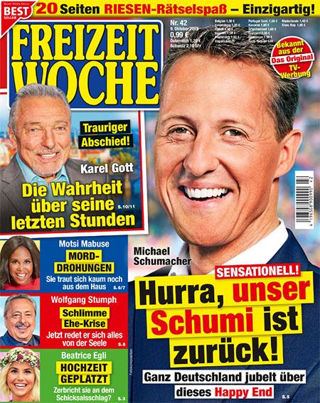 Michael Schumacher - Sensationell! - Hurra, unser Schumi ist zurück! - Ganz Deutschland jubelt über dieses Happy End
