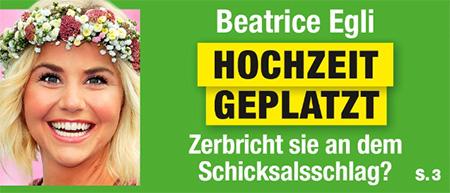 Beatrice Egli - Hochzeit geplatzt - Zerbricht sie an dem Schicksalsschlag?