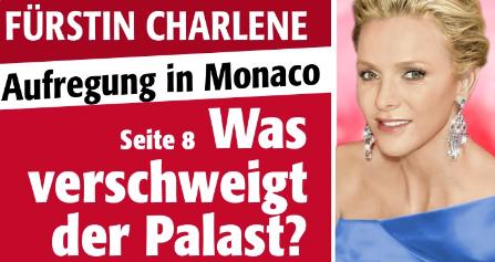 Fürstin Charlene - Aufregung in Monaco - Was verschweigt der Palast?