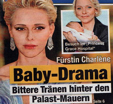 Fürstin Charlène - Baby-Drama - Bittere Tränen hinter den Palast-Mauern