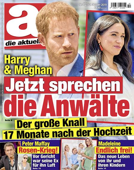 Harry & Meghan - Jetzt sprechen die Anwälte - Der große Knall 17 Monate nach der Hochzeit