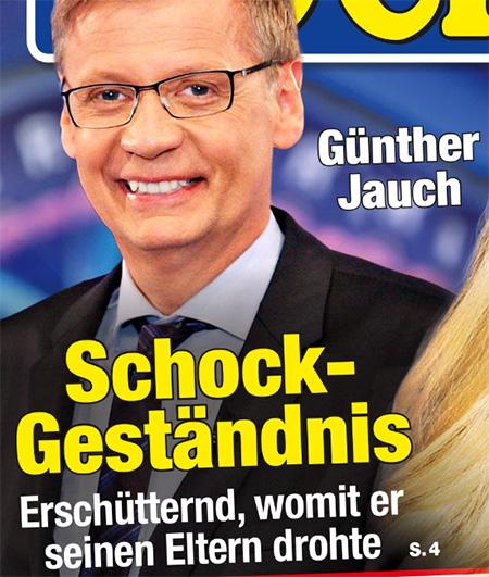 Günther Jauch - Schock-Geständnis - Erschütternd, womit er seinen Eltern drohte