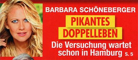 Barbara Schöneberger - pikantes Doppelleben - Die Versuchung wartet schon in Hamburg