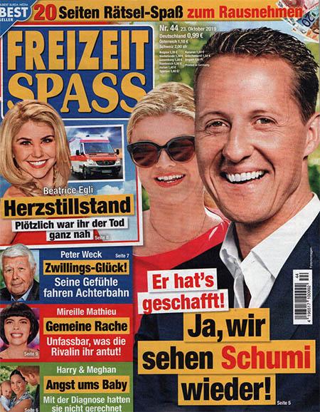 Er hat's geschafft - Ja, wir sehen Schumi wieder!