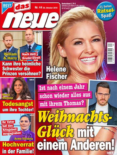 Helene Fischer - Ist nach einem Jahr schon wieder alles aus mit ihrem Thomas? - Weihnachtsglück mit einem Anderen!