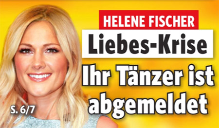 Helene Fischer - Liebes-Krise - Ihr Tänzer ist abgemeldet
