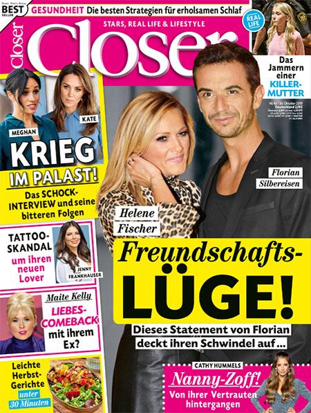 Helene Fischer, Florisan Silbereisen - Freundschafts-LÜGE! - Dieses Statement von Florian deckt ihren Schwindel auf